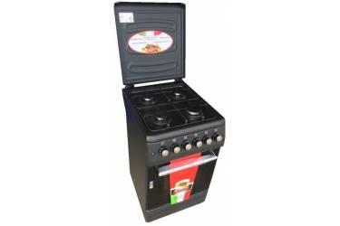 Комбинированная плита Lofratelli OGE 5640 BL черный г/э электроподжиг м/р дух 50л
