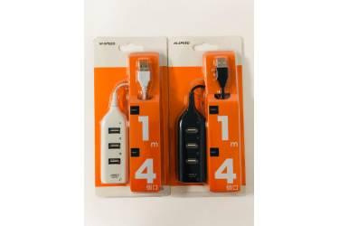 Адаптер USB Hub 4 ports белый (Orange Pack)