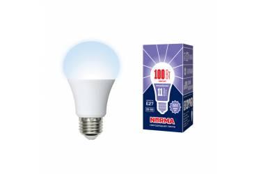 Лампа светодиодная Uniel Norma LED-A60-11W/DW/E27/FR/NR картон
