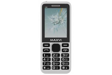 Мобильный телефон Maxvi C25 white
