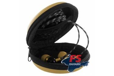 Чехол Krutoff для внутриканальных наушников (золотой)