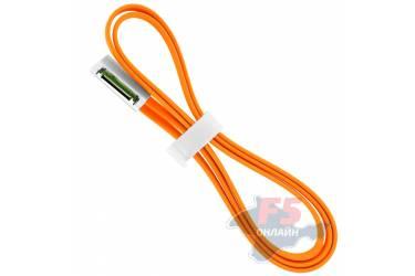 Кабель USB Krutoff для iPhone 4/4S с магнитом (1m) оранжевый в коробке