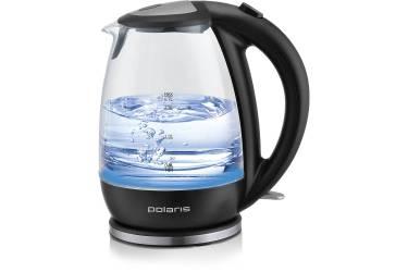 Чайник электрический Polaris PWK 1787CGL 1.7л. 2200Вт черный (стекло)