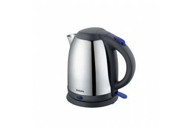 Чайник электрический Philips HD9306 1.5л. 1800Вт серебристый/черный (корпус: нержавеющая сталь)