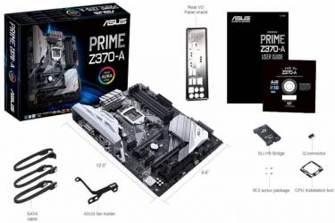 Материнская плата Asus PRIME Z370-A Soc-1151 Intel Z370 4xDDR4 ATX AC`97 8ch(7.1) GbLAN RAID