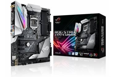 Материнская плата Asus ROG STRIX Z370-E GAMING Soc-1151 Intel Z370 4xDDR4 ATX AC`97 8ch(7.1) GbLAN RAID