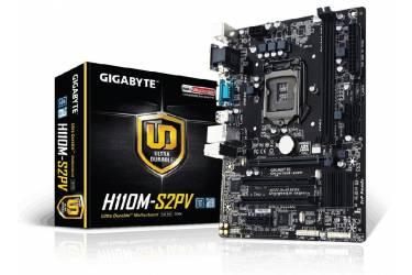 Материнская плата Gigabyte GA-H110M-S2PV Soc-1151 Intel H110 2xDDR4 mATX AC`97 8ch(7.1) GbLAN+VGA+DVI