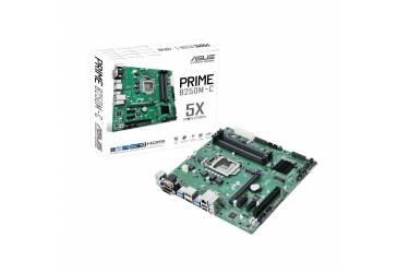 Материнская плата Asus PRIME B250M-C Soc-1151 Intel B250 4xDDR4 mATX AC`97 8ch(7.1) GbLAN+VGA+DVI+HDMI+DP
