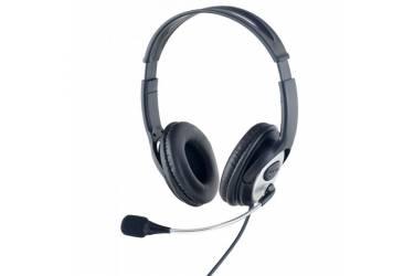 Наушники Perfeo IDDQD накладные c микрофоном черные USB