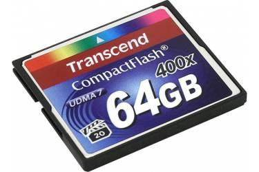 Карта памяти Transcend CF 64GB 400x