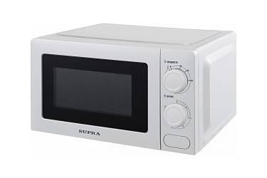 Микроволновая Печь Supra MWS-20MW20  белый 20л 700Вт механика кнопка