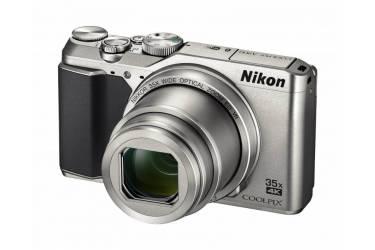"Фотоаппарат Nikon CoolPix A900 серебристый 20.3Mpix Zoom35x 2.7"" 4K SDXC CMOS 1x2.3 IS opt+el 1minF 30fr/s HDMI/EN-EL12"