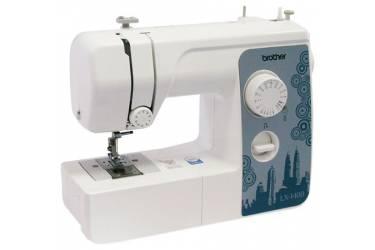 Швейная машина Brother LX-1400s белый (кол-во швейных операций -14)