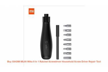 Отвертка реверсивная Xiaomi Mijia Wiha 8 in 1 Ratchet Screwdriver