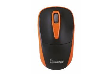 Компьютерная мышь Smartbuy Wireless 373AG черно-оранжевая