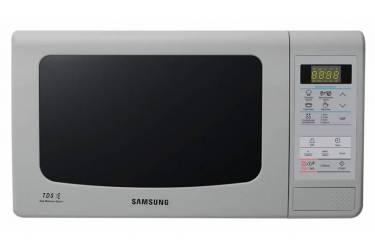 Микроволновая Печь Samsung ME83KRS-3 серый,23л, 800Вт,электрон управл,внутр эмаль