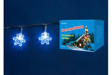 Гирлянда светодиодная «Снежинки» с контроллером ULD-S0280-020/DTA WHITE IP20 SNOWFLAKES