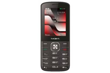Мобильный телефон teXet TM-D329 черный-красный