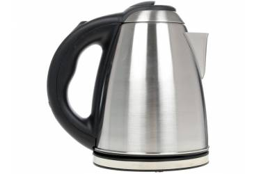 Чайник электрический Centek CT-0049 металл 1,8л, 2000W, нерж крышка внутри и снаружи, нерж база, двойная защита