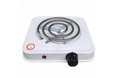 Плитка электрическая настольная IRIT IR-8005 белая спираль 1 конфорка 1000Вт