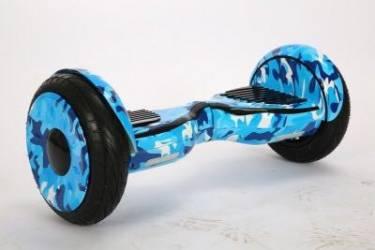"""Гироскутер 10,5"""" Smart Balance Premium New Wheel с приложением ТаоТао (Хаки/Камуфляж Синий)"""