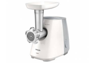 Мясорубка Philips HR2709/20 1600Вт белый/серый