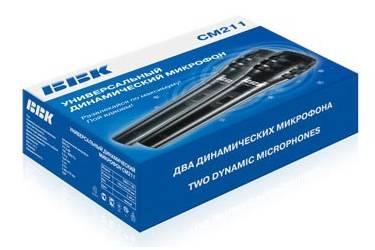 Микрофон проводной BBK CM211 2.5м черный