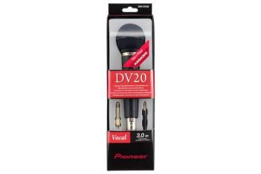 Микрофон проводной Pioneer DM-DV20 3м черный