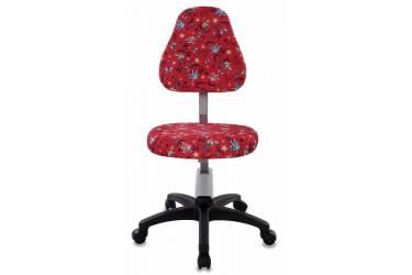 Кресло детское Бюрократ KD-8/ANCHOR-RD красный якоря