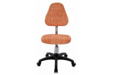 Кресло детское Бюрократ KD-8/GIRAFFE оранжевый жираф