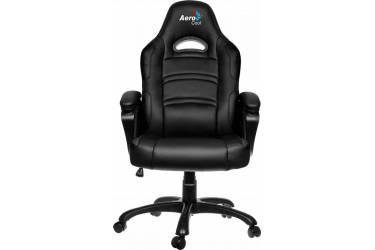Кресло игровое Aerocool 428062 черный сиденье черный кожа крестовина металл