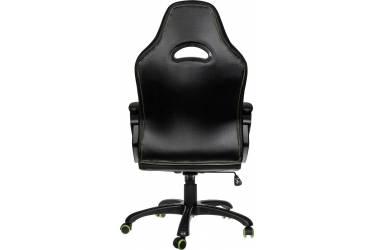 Кресло игровое Aerocool 428394 черный/салатовый сиденье черный/салатовый кожа крестовина металл