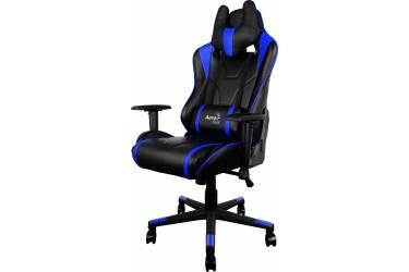 Кресло игровое Aerocool 428432 черный/синий сиденье черный/синий искусственная кожа