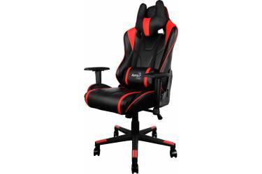 Кресло игровое Aerocool 428434 черный/красный сиденье черный/красный искусственная кожа