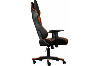 Кресло игровое Aerocool 428436 черный/оранжевый сиденье черный/оранжевый искусственная кожа