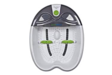 Гидромассажная ванночка для ног Medisana Ecomed Foot Spa 65Вт белый/серый