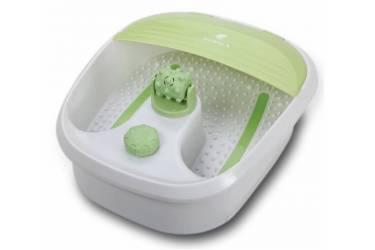 Гидромассажная ванночка для ног Supra FMS-101 80Вт белый/зеленый