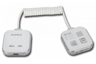 Массажер Supra MBS-112 1.15Вт белый/серебристый