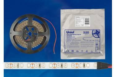 Лента светодиодная Uniel ULS-2835-60LED/m-8mm-IP65-DC12V-9,6W/m-5M-W