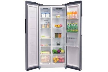 Холодильник ASCOLI ACDS450W серебро SBS 400л(х251м149) 174*78*63см No Frost дисплей