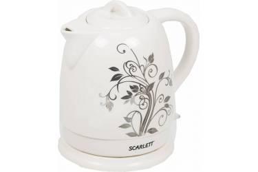 Чайник электрический Scarlett SC-024 1.5л. 2200Вт белый (корпус: керамика)