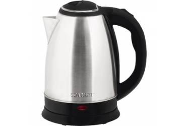 Чайник электрический Scarlett SC-EK21S26 1.8л. 1800Вт серебристый (корпус: нержавеющая сталь)