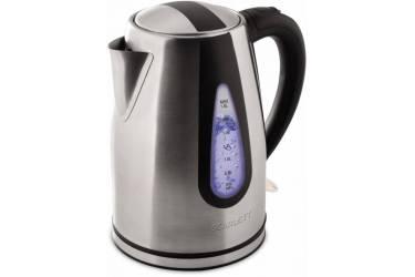 Чайник электрический Scarlett SC-EK21S48 1.8л. 2000Вт серебристый/черный (корпус: нержавеющая сталь)