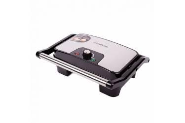 Гриль контактный ENDEVER Grillmaster 210 серебристый/черный 2100Вт 32*28*13см