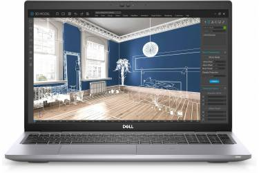 "Ноутбук Dell Precision 3560 Core i7 1165G7/16Gb/SSD512Gb/NVIDIA Quadro T500 2Gb/15.6"" WVA/UHD (3840x2160)/Windows 10 Professional/grey/WiFi/BT/Cam"