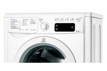 Стиральная машина Indesit IWSE 6105 B (CIS).L класс: A загр.фронтальная макс.:6кг белый
