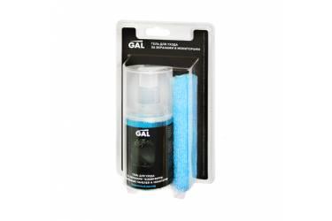Чистящее средство гель Gal CL210 для ухода за экранами и мониторами (200мл+микрофибра)