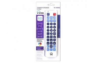 Пульт телевизионный Vixter RC-3001BL синий