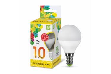 Лампа светодиодная ASD LED-ШАР-standard 10Вт 230В  Е14 3000К 900Лм