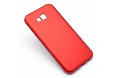 Силиконовый чехол J-CASE для Samsung SM-J730 Galaxy J7 (2017) Красный